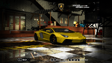 2015 Lamborghini Aventador liberty Walk (NFS Payback) Gold plated