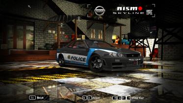 1999 Nissan Skyline (NFS World Police)