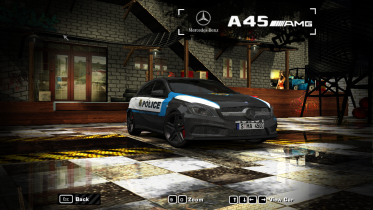 2014 Mercedes-Benz A45 AMG(NFS World Police)