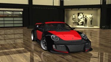 2007 Porsche 911 GT2 Rose Largo