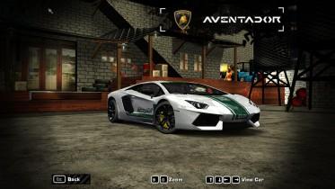 2012 Lamborghini Aventador( Dubai Police)