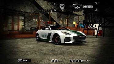 2015 Jaguar F type enforcer ( Dubai police)