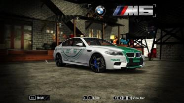 2015 BMW M5 (Dubai Police)