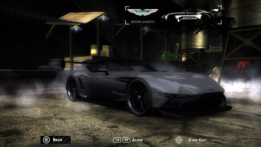 Aston Martin Vulcan (with extra customization)