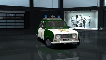 1978 Renault 4GTL Police
