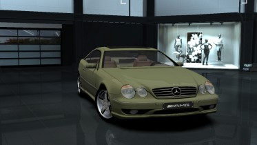 2001 Mercedes Benz CL55 AMG