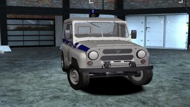 1985 UAZ 3151 Police