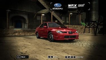 2007 Subaru Impreza WRX  STI Limited (Baby Driver edition)