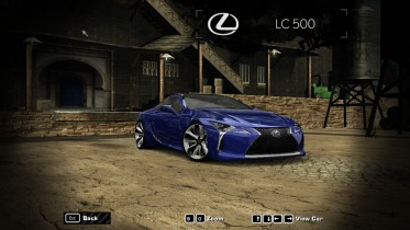 2017 Lexus LC500 ( Black Panther Edition)