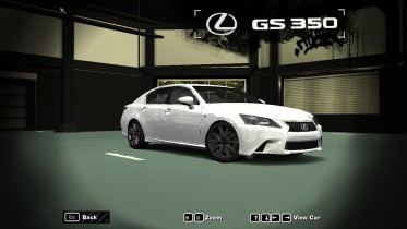 2015 Lexus GS350 F-Sport (Black Line Edition)