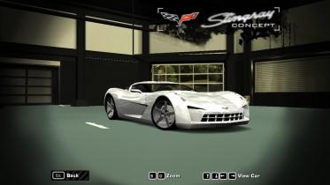 2009 Chevrolet Corvette Concept (Sidewipe)