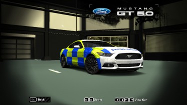 2016 Ford Mustang GT (UK Police Edition)