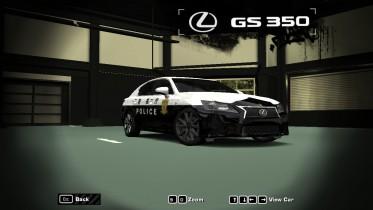 2015 Lexus GS350 (Japan Police)