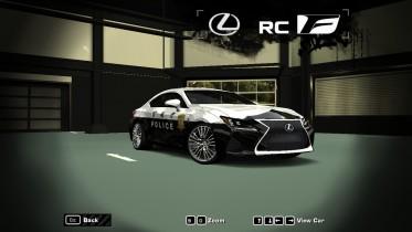 2015 Lexus RC-f (Japan Police)