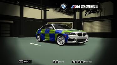 2015 BMW M235i (Metropolitan Police)