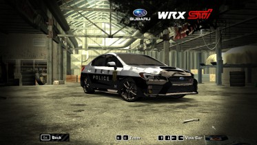 2015 Subaru Impreza WRX STI (Japan police)