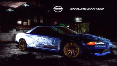 Nissan Skyline GTR R32 (Boss Flamming Skulls)