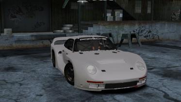 1986 Porsche 961 Group B Prototype