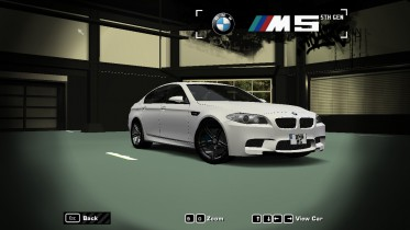 2015 BMW M5 (White Shadow Edition)