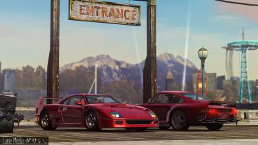 Ferrari F40 and Porsche 959