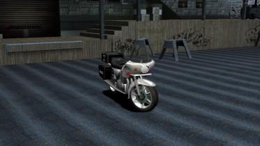 1977 Kawasaki KZ1000 Police