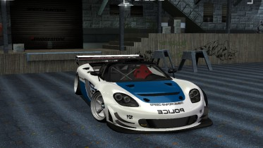2005 Porsche Carrera GT Hot Pursuit Police