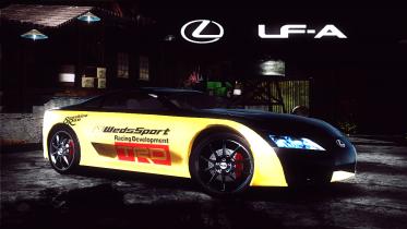 Lexus LF-A Concept '05 (Fujio) Sunshine Run Crew