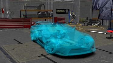 2011 Lexus LFA Crystal Blue Edition