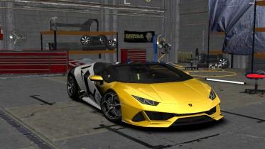 2020 Lamborghini Huracan EVO Spyder Special Event