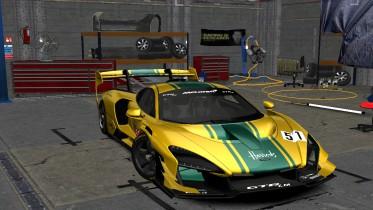 2020 McLaren Senna GTR LM