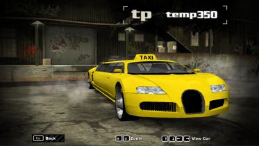 Bugatti Veyron (Limousine Taxi edition)(Traffic)