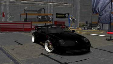 1995 Porsche 911 GT2 (993) RWB Natty Dread