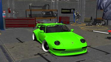 1995 Porsche 911 GT2 (993) RWB Super Musashi