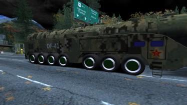 2019 DF-41 Ballistic Missile