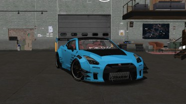 2017 Nissan GT-R R35 Liberty Walk Type 2