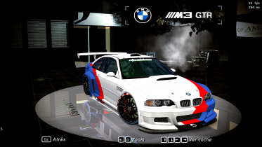 BMW M3 GTR Fully Customizable, Mi version