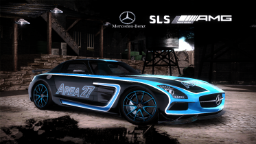 Mercedes-Benz SLS AMG Black Series (Area 27)