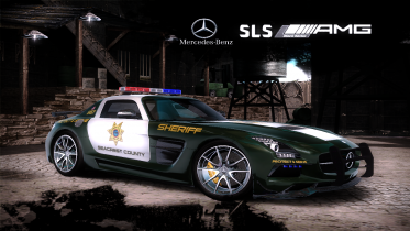 Mercedes-Benz SLS AMG Black Series (Seacrest County Police Department)