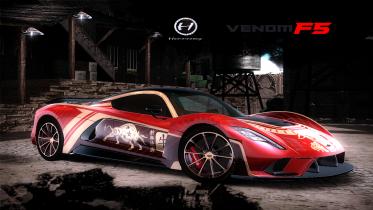 Hennessey Venom F5 (Lunar New Year : Year of The Ox)