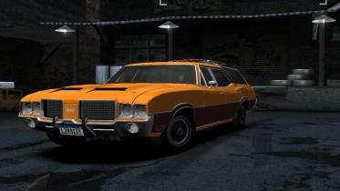 1972 Oldsmobile Vista Cruiser 442