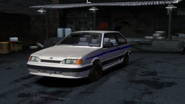 2004 Lada 2113 Police
