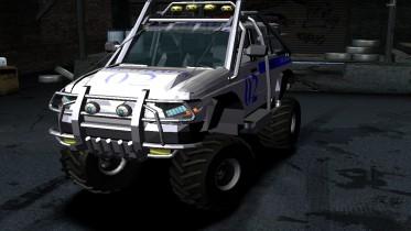 2005 UAZ Patriot Police