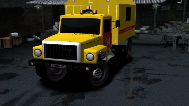 1983 GAZ 3309 Technical Assistance