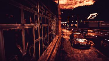 Crazy BMW M3 GTR