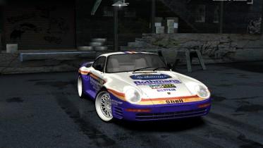 1986 Porsche 959 #186 Dakar Rally Raid