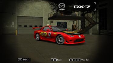 Mazda RX7 FD Time Attack