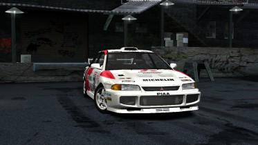 1995 Mitsubishi Lancer Evolution III GSR WRC