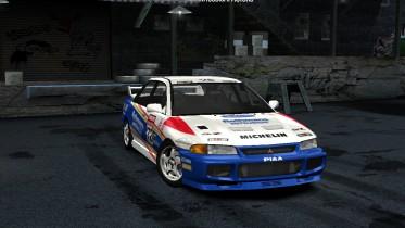 1995 Mitsubishi Lancer Evolution III GSR Rothmans R.Burns