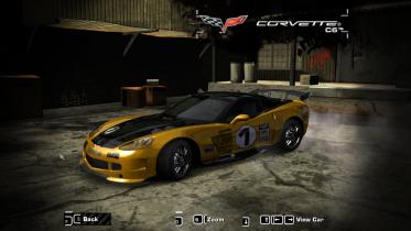 Chevrolet Corvette A-Spec (Clean version) from NFS World