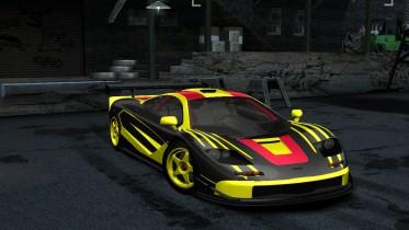 1993 Mclaren F1 Black Yellow Red (TONY_AH_NFS Edition)